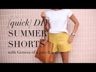 Quick DIY: Summer Shorts
