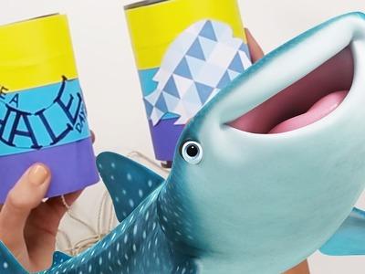 Speak Like a Whale Telephone | Disney DIY