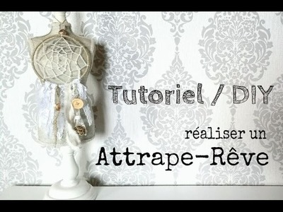 Tutoriel. DIY: réaliser un attrape-rêve. make a dream catcher