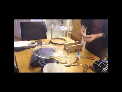 Adams DIY making a Ant.Termite Outworld