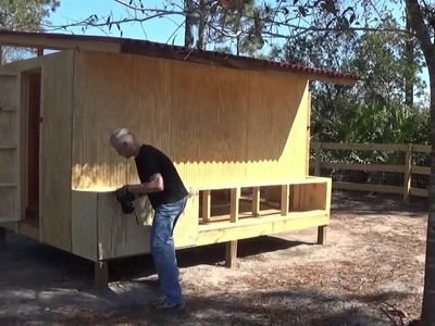 Chicken Coop Build