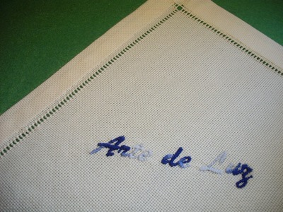 Course of basic embroidery 20: Hem with hemstitch