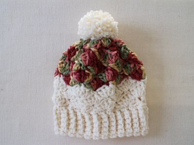 How To Crochet Fast and Chunky Hat: Left Hand