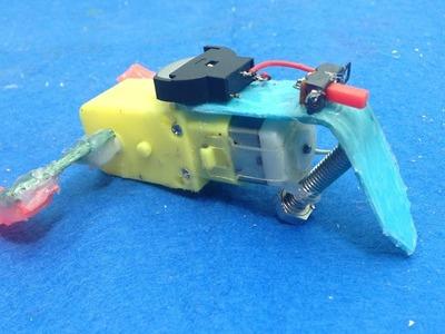 How to make a simple running hopping robot - DIY Robot
