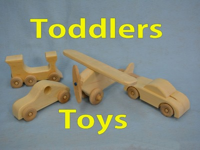 How to Make Wooden Toddle Toys