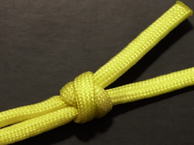 How To Tie A Two Strand Matthew Walker Knot With Paracord