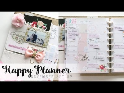 NEW Happy Planner in Deluxe Cover November Set up! | Charmaine Dulak