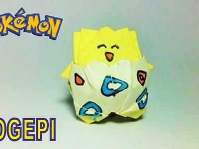 Pokemon Go: Origami Pokemon Togepi by PaperPh2