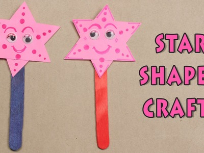Star Shaped Crafts | Crafts For Kids | Summer Special | Easy Paper Craft