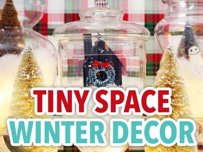Tiny Space Winter Decor - HGTV Handmade