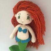 Crochet Pattern Ariel Mermaid Amigurumi Pdf