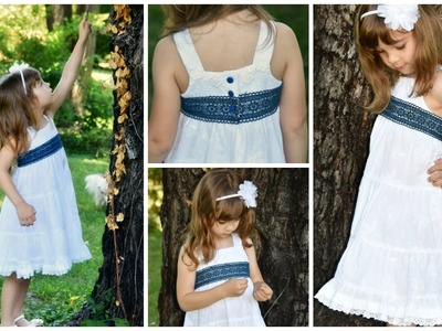 Boho Dress DIY - with a sun dress Pattern