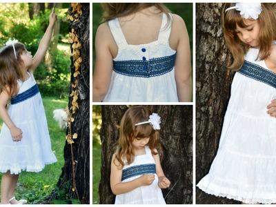 Boho Dress DIY - with a sun dress Pattern