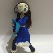 Crochet Pattern Avatar Katara Waterbender Amigurumi Pdf