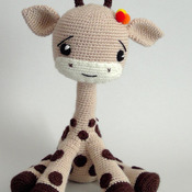 Crochet Pattern Giraffee Toy Amigurumi Pdf