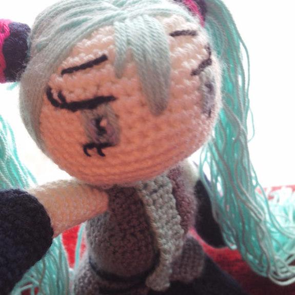 Crochet Pattern Hatsune Miku Doll Amigurumi Pdf ...