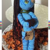 Crochet Pattern Navi Neytiri Amigurumi Pdf v.3