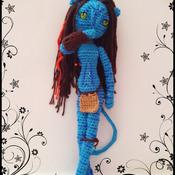 Crochet Pattern Navi Neytiri Amigurumi Pdf v.2