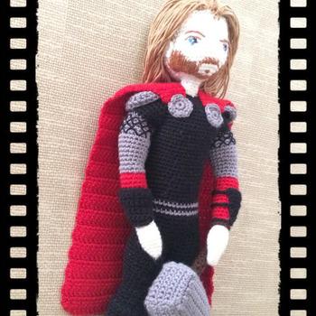 Crochet Pattern Thor The Thunder God Amigurumi Pdf