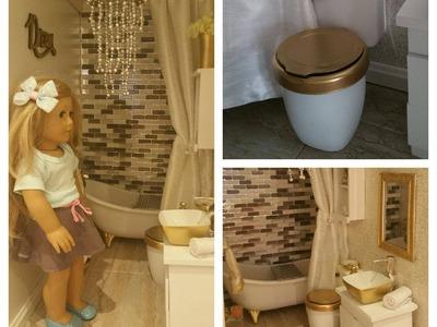 DIY American Girl Doll Toilet