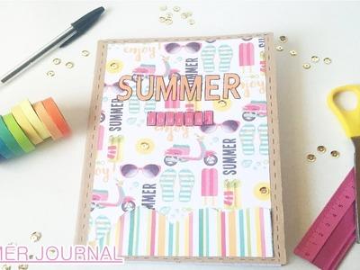 DIY Cómo hacer tu Bullet Journal (summer journal)   Laila color