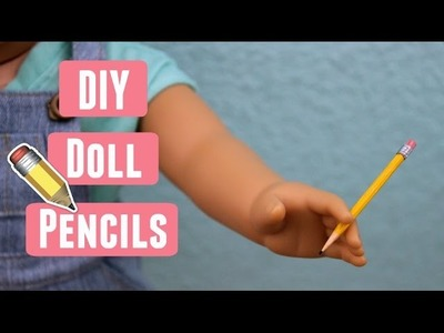 DIY Doll Pencils ll ilovesabie