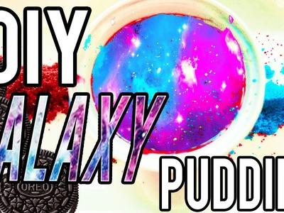 DIY Galaxy Oreo Pudding!! Taste Test!