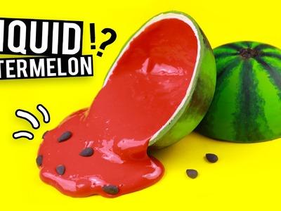 DIY LIQUID Watermelon!