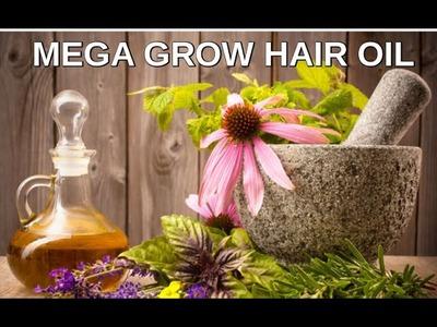 DIY: Mega Grow Natural Hair Oil
