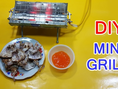 DIY Mini GRILL 12V simple use Glow Plug at home
