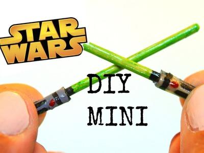 DIY Miniature Lightsaber   Minatures DIY