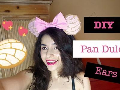 DIY PAN DULCE.CONCHA.MEXICAN SWEET BREAD MINNIE EARS