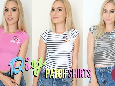 DIY Patch Shirts #StyleLife | COCO CHANOU