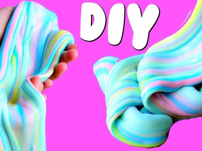 DIY RAINBOW UNICORN SLIME | DIY Pinterest Slime Tested!