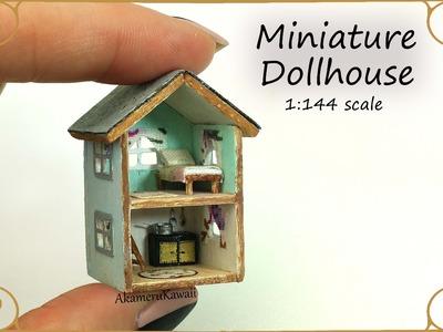 Dollhouse for Dolls; Miniature Dollhouse Tutorial