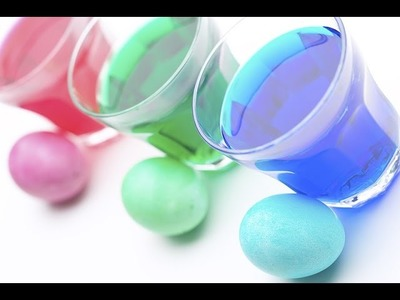How to make Coloring Easter Eggs with Cool Aid - DIY Cheap Trick - Save Money