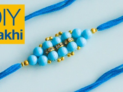 How to make rakhi | DIY rakhi for Raksha Bandhan