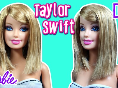 Taylor Swift Hair Tutorial for Barbie Doll - Barbie Haircut Tutorial - DIY - Making Kids Toys