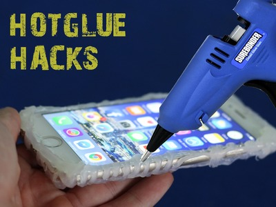 4 amazing things can be made with a hot glue gun - hot glue hacks