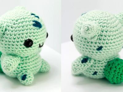 Bulbasaur Amigurumi Crochet Time Lapse