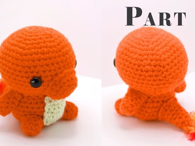 Charmander Amigurumi Crochet Tutuorial Part 2