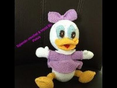 Como tejer a Daisy bebe amigurumi (crochet) PARTE No. 2