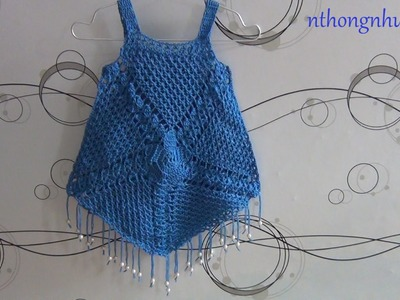 Crochet blouse gipsy style tutotial (engsub)