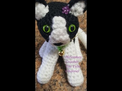 Crochet Quick Easy Beginner Cute Amigurumi Kitty Cat DIY Tutorial