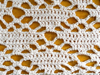 Cupcake Lacy Stitch – Crochet Tutorial