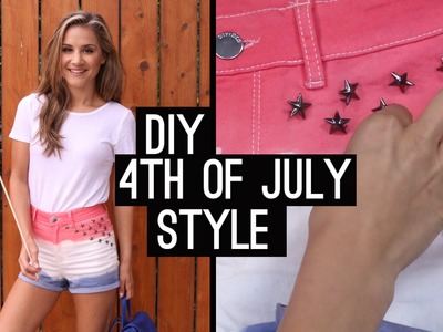 DIY: 4th Of July  Style | Get The Look (STYLEWIRE)