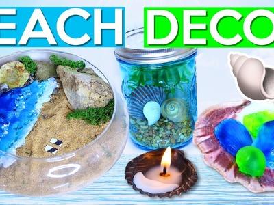 DIY BEACH DECOR!