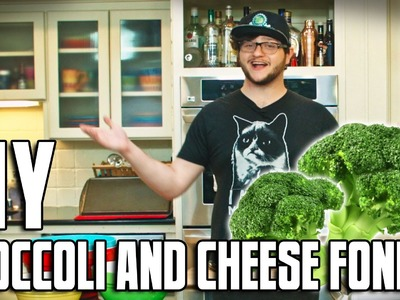 DIY | Broccoli and Cheese Fondue! (GONE WRONG)