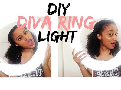 DIY Diva Ring Light | Under $25