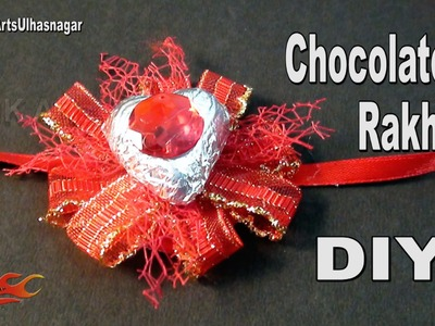 DIY Easy Chocolate Rakhi for Kids | How to make | JK Arts 987